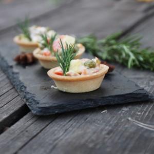 3---тарталетки с салатом оливье