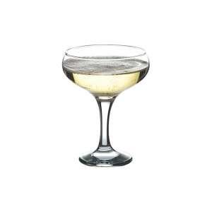 Бокал-блюдце для шампанского бистро 190 мл