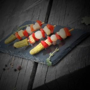 7 --- минишашлычки из солений